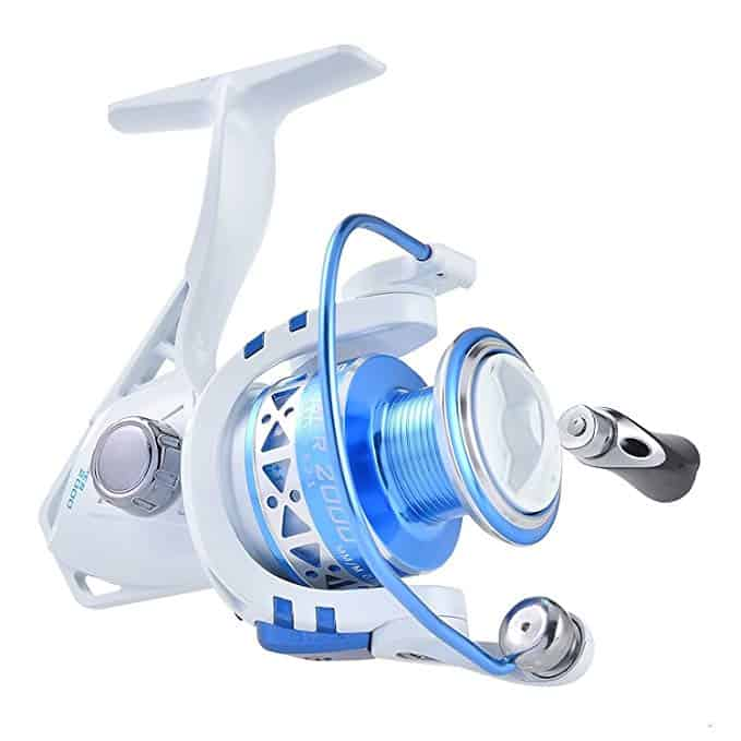 KastKing Summer and Centron Spinning Reels, 9 +1 BB Light Weight, Ultra Smooth Powerful, 500 Size is Perfect for Ice Fishing