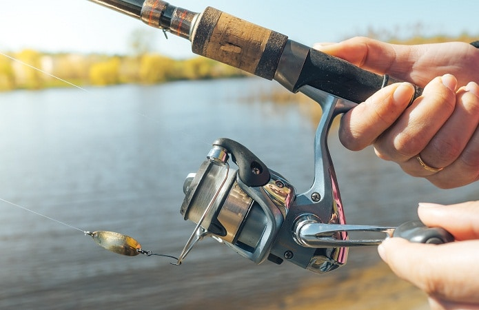 Trout Spinning Reels Capacity