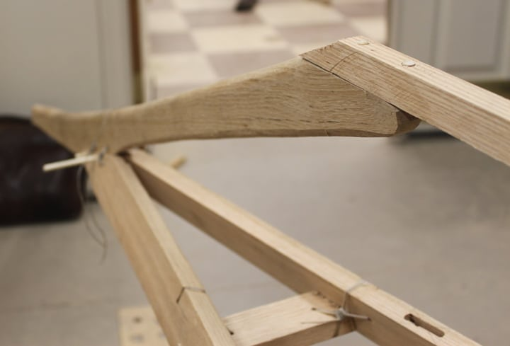 Bow shaping frame