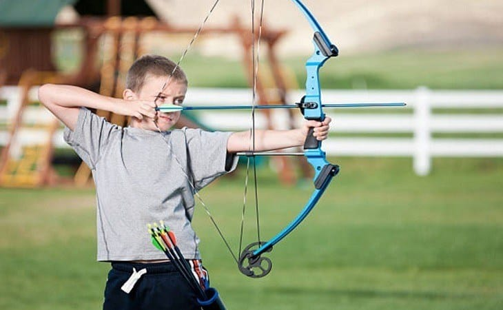 Choosing a youth composite bow
