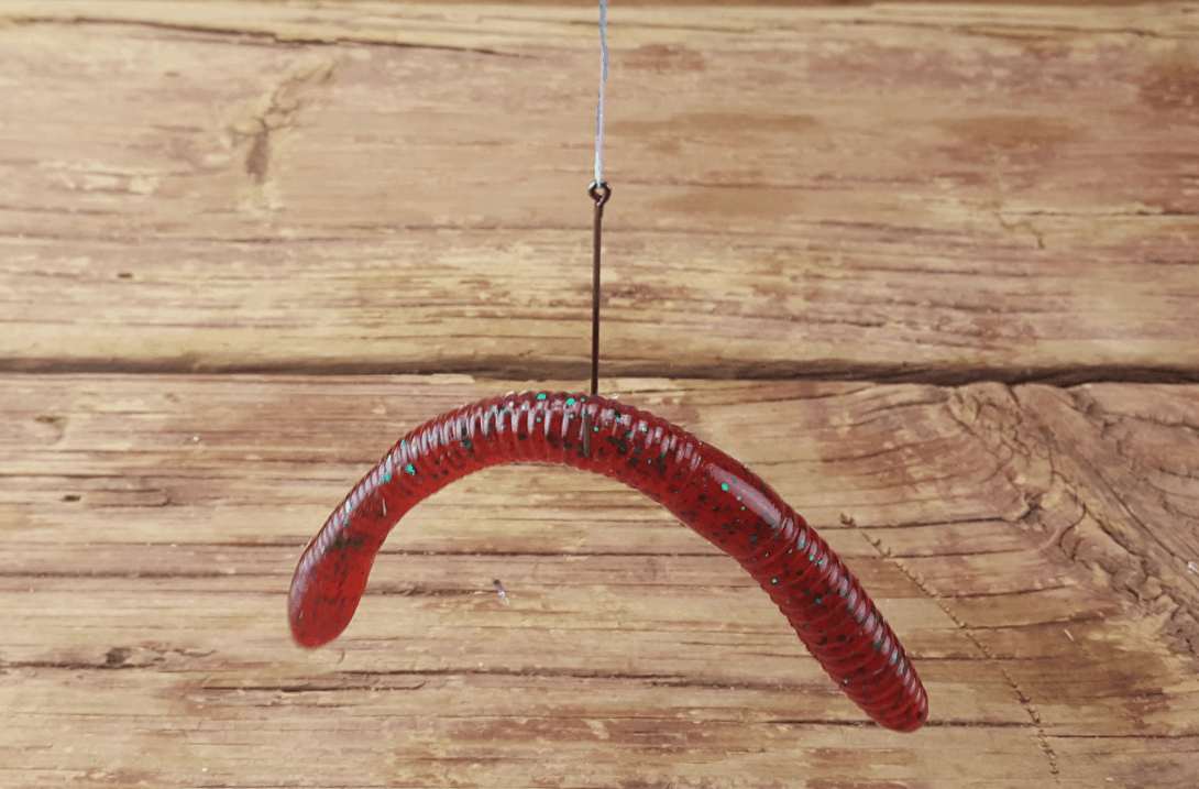 How to fish plastic worm