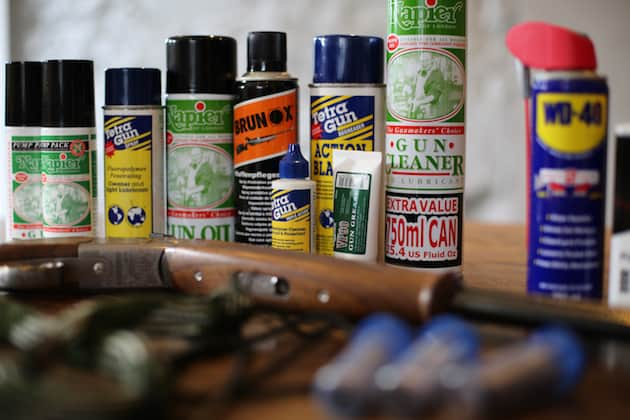 gun oil products