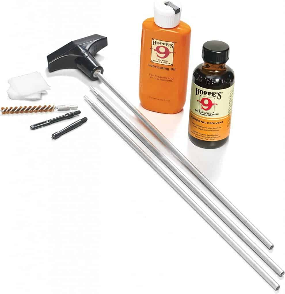 Hoppe's No. 9 Rifle Cleaning Kit With Aluminum Rod