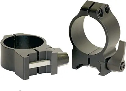 two-piece scope ring mount sets